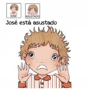 Cuento con pictograma – José esta asustado